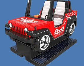 Off Road Coin Operated Ride 3D asset low-poly