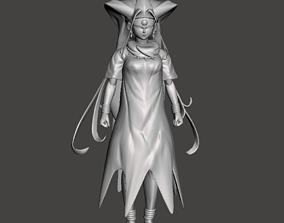 Oceanus Shenron Human form 3D Model