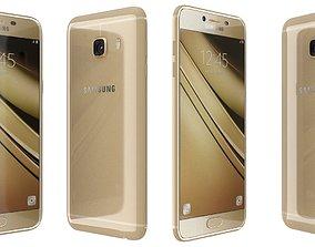 Samsung Galaxy C5 Gold 3D