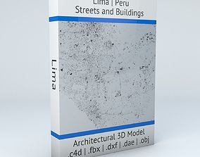 3D Lima Streets and Buildings