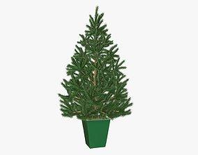 3D Fir tree artificial 04
