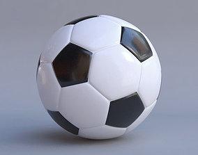 soccer ball 3D model championship