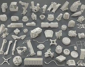 3D model Kit bash - 57 pieces - collection-20