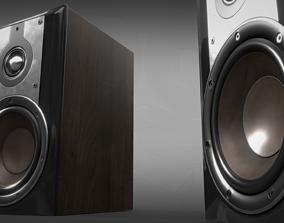 3D PBR Hi-Fi Speakers