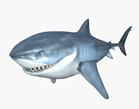 Bruce The Shark 3D model