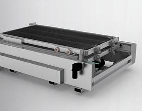 3D model Large platform laser feeding machine