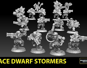 3D print model Astroknight Dwarves Stormers