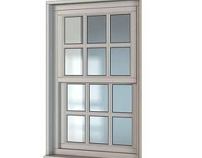 3D model Classical Wooden Window