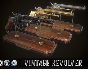 LEFAUCHEUX - Vintage Revolver 3D model