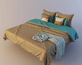 Bed linen 2 3D model
