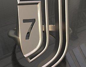 3D print model J7 mens ring jewelry