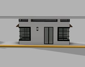 3D asset Modern Guard House