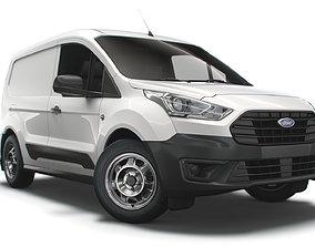 3D model Ford Transit Connect Leader UK spec SWB 2020