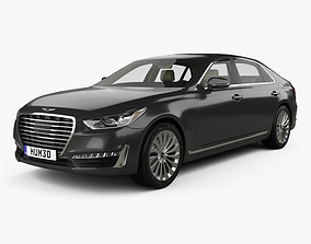 3D Genesis G90 with HQ interior 2017