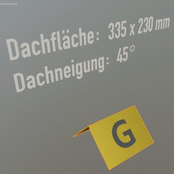 Flight Marker Hood 335x230mm  (Blender-2.92 Eevee)