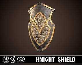 3D asset Knight Shield 01