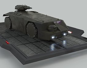 3D model M577 Armored Personnel Carrier