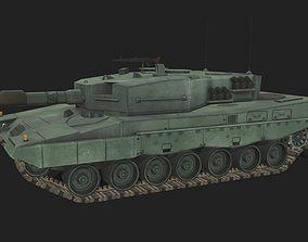 3D asset Tank Leopard 1