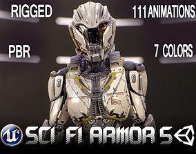 Sci-Fi Armor 5 3D model