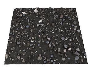 Mud stones desert 16K 3D asset