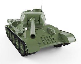 3D model ussr T-34-85
