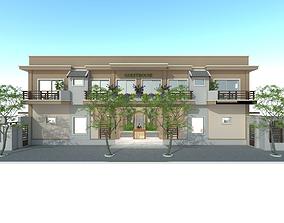 3D model Guesthouse exterior