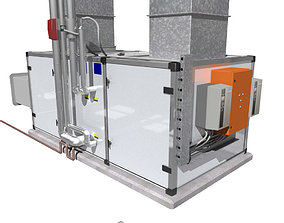 Air handling unit 3D model
