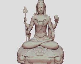 Ancient Buddha Statue 3D print model