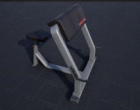 3D asset Scott Bench