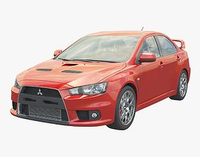 3D Mitsubishi Lancer Evolution