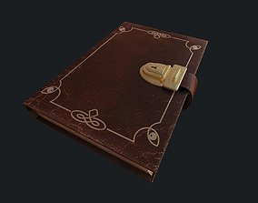 3D model Old Book pbr