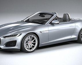 3D Jaguar F-Type Regular Convertible 2021