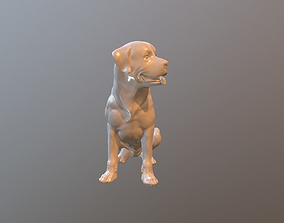 figurines Rottweiler 3d model for print