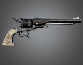 FPS Western Revolver - MD 1860 3D model