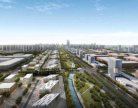 3D model City Planning 056A