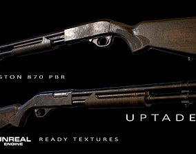 3D asset Remington 870