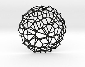 3D printable model Drink coaster - Voronoi No IV
