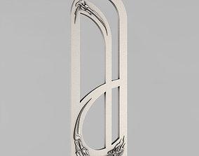 Carved door decoration 3D print model