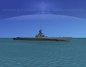 Gato Class Submarine SS-224 USS Cod 3D