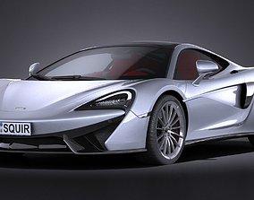 3D McLaren 570GT 2017