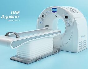 3D asset VR / AR ready Aquilion ONE GENESIS CT scanner