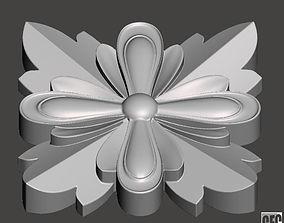 WoodCarving detail - 3d model for CNC - WCCFC0L