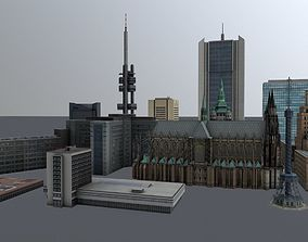 3D model Prague High Rise Pack