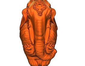 3D printable model Auspicious elephant