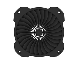 Fan grill 120mm STL file for 3d Print