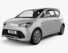 Generic hatchback 3-door 2012 3D