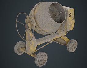 Concrete Mixer 1B 3D model