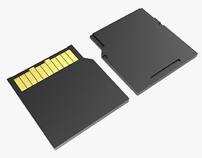 3D Memory card mini SD