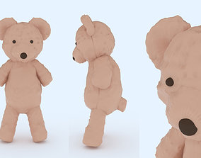 3D printable model winter Teddy Bear
