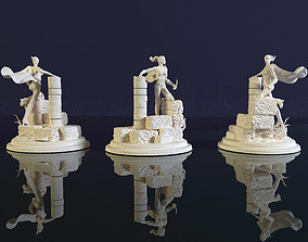Valkyrie statuette for 3D printing